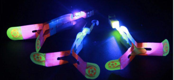 LED Schleuder dunkel
