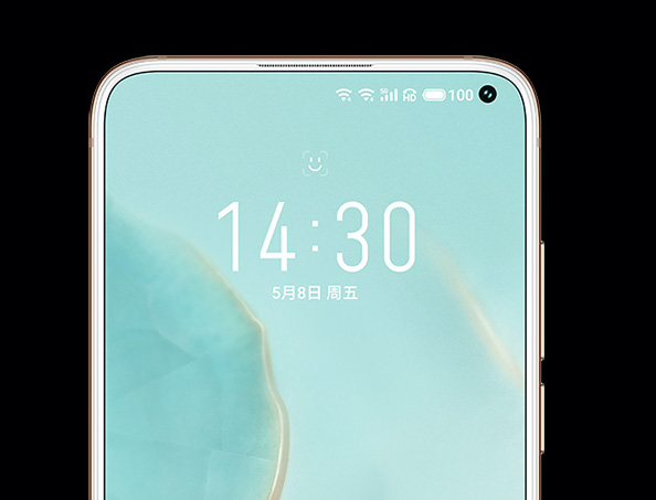 Meizu 17 Display Punch Hole