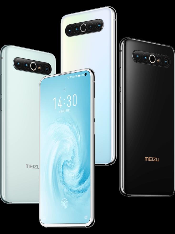 Meizu 17 Smartphone Farben
