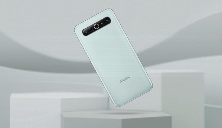 Meizu 17 Smartphone Rueckseite Mint