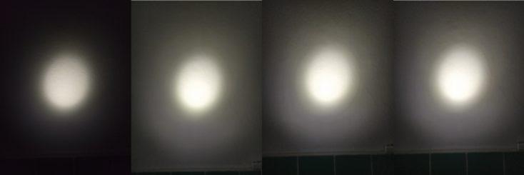Olight S1R Baton II Taschenlampe Leuchtmodi