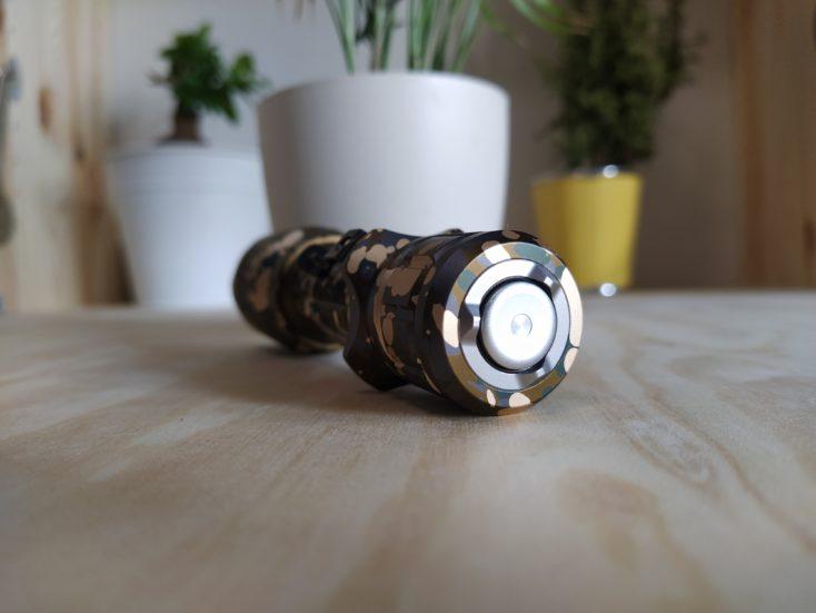 Olight Warrior X Pro Taschenlampe Schalter