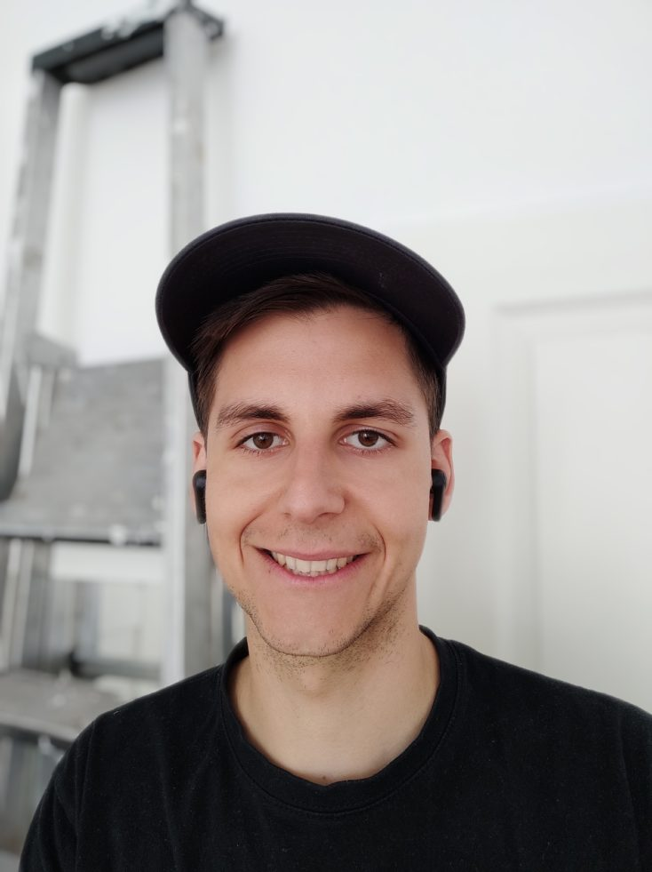 Poco F2 Pro Frontkamera Testfoto Portrait