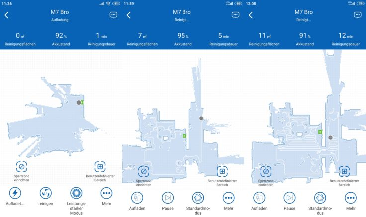 Proscenic M7 Pro Saugroboter Home App Mapping Beginn