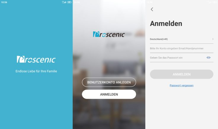 Proscenic M7 Pro Saugroboter Home App Registrierung