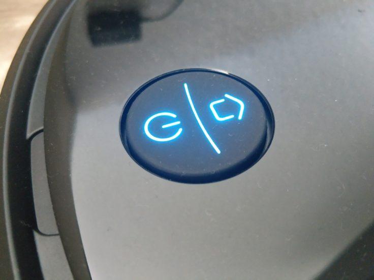 Puppyoo R6 Saugroboter LED-Bedienelemente