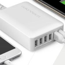 RAVPower 60W USB-Ladegeraet 6 Ports Titel