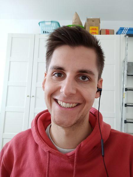 Realme 6 Frontkamera Testfoto Selfie