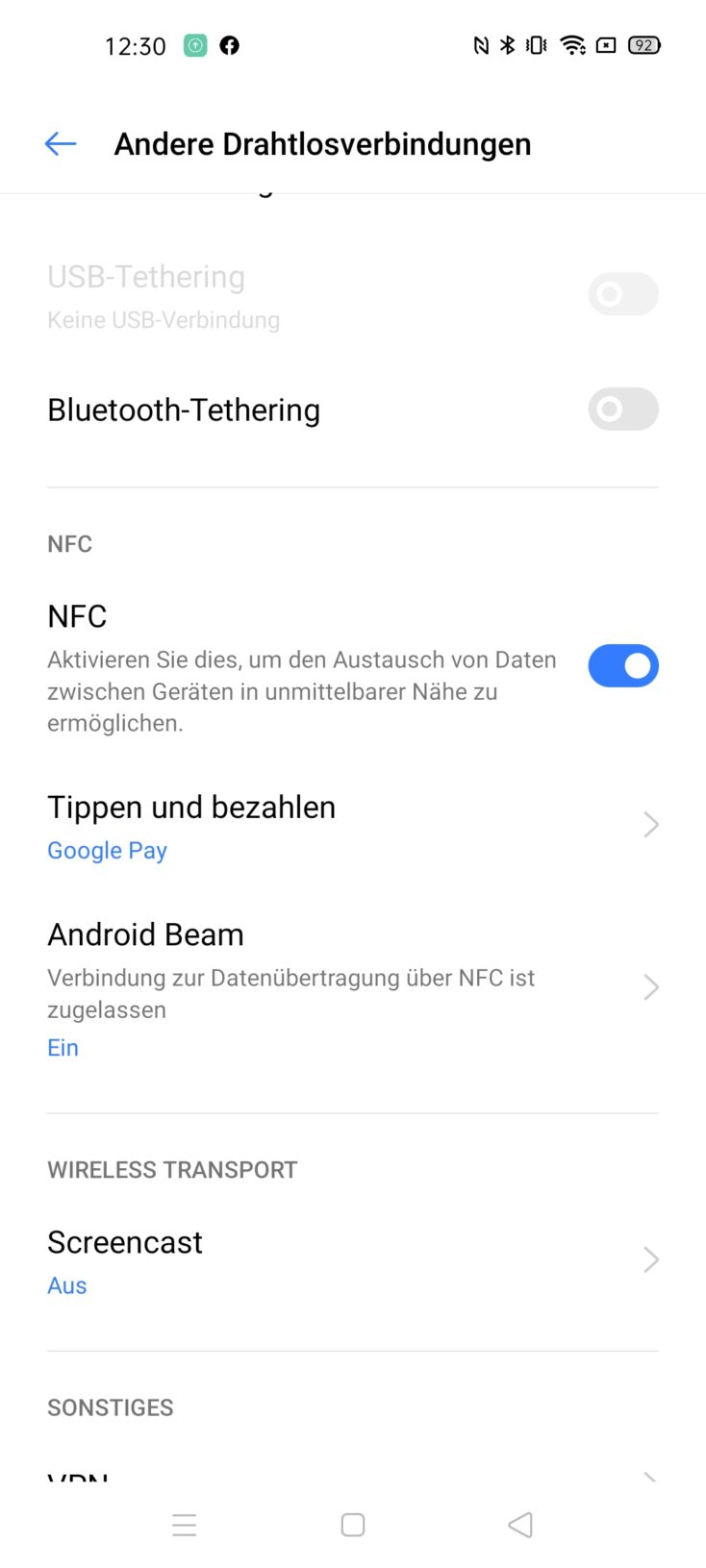 Realme 6 NFC