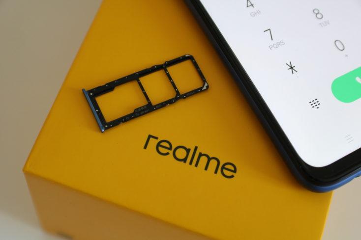 Realme 6 SIM-Slot