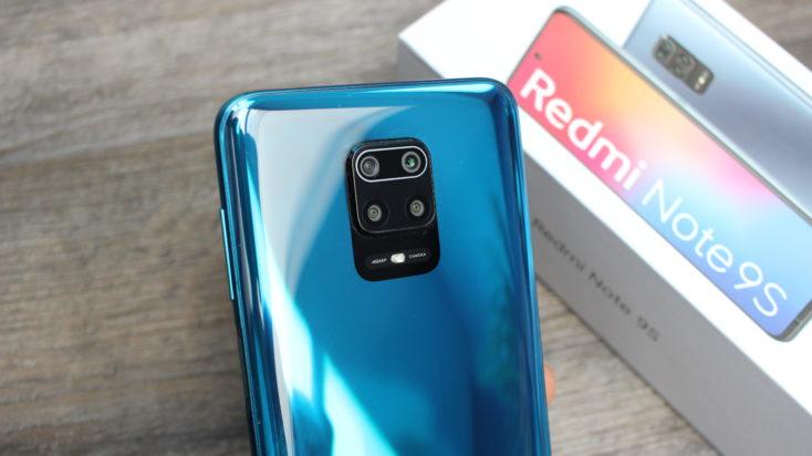 Redmi Note 9S Glanz Rueckseite