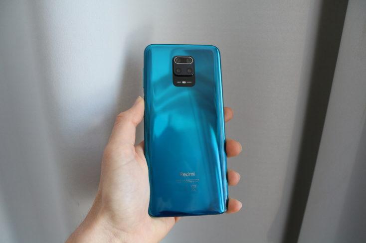 Redmi Note 9S Rueckseite Handling