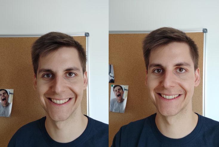 Redmi Note 9 Pro Testfoto Frontkamera vs Redmi Note 9S