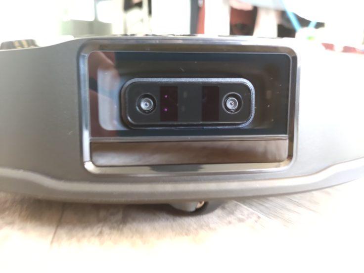 Roborock S6 MaxV Saugroboter Kameraaugen