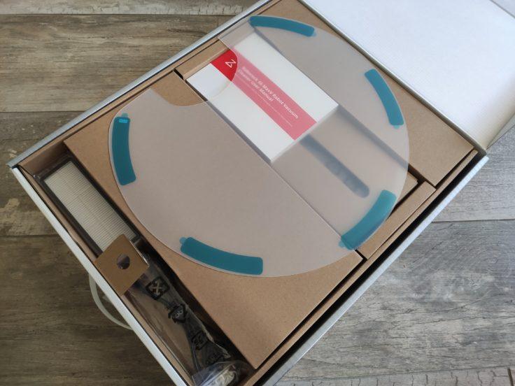 Roborock S6 MaxV Saugroboter Verpackung Einzelteile