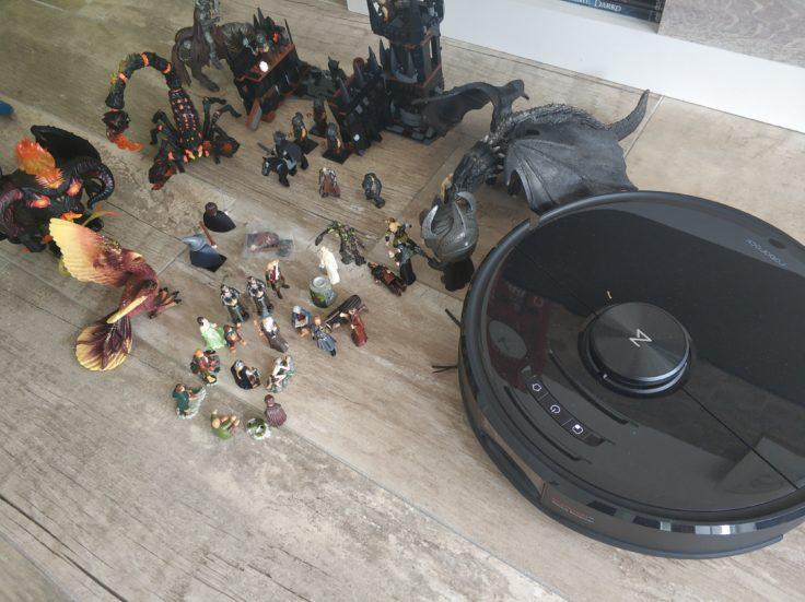 Roborock S6 MaxV Saugroboter kleine Hindernisse Erkennung AI