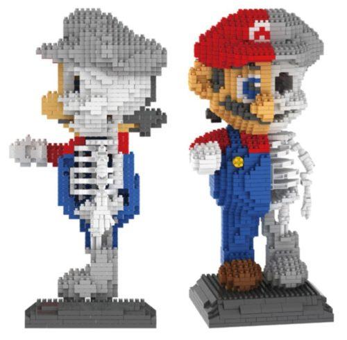 Super Mario Skelett Titelbild