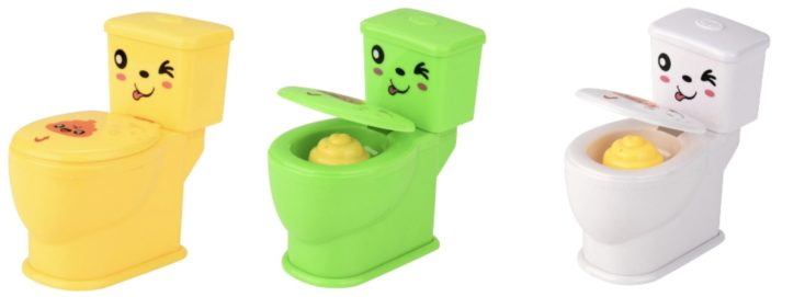 Toiletten Stress