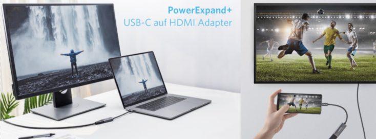 USB C auf HDMI Laptop und Monitor