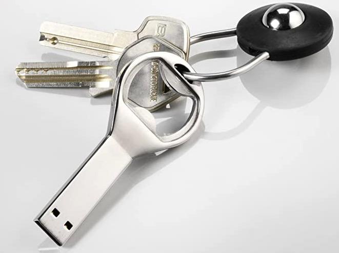 USB Stick Flaschenoeffner Schluesselbund