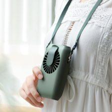 Umhaenge-Ventilator um den Hals