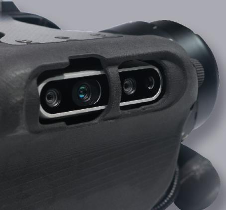 Unitree A1 Laufroboter Kameraaugen