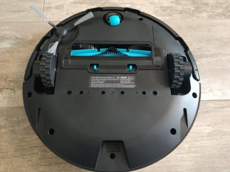 Viomi V3 Saugroboter Unterseite