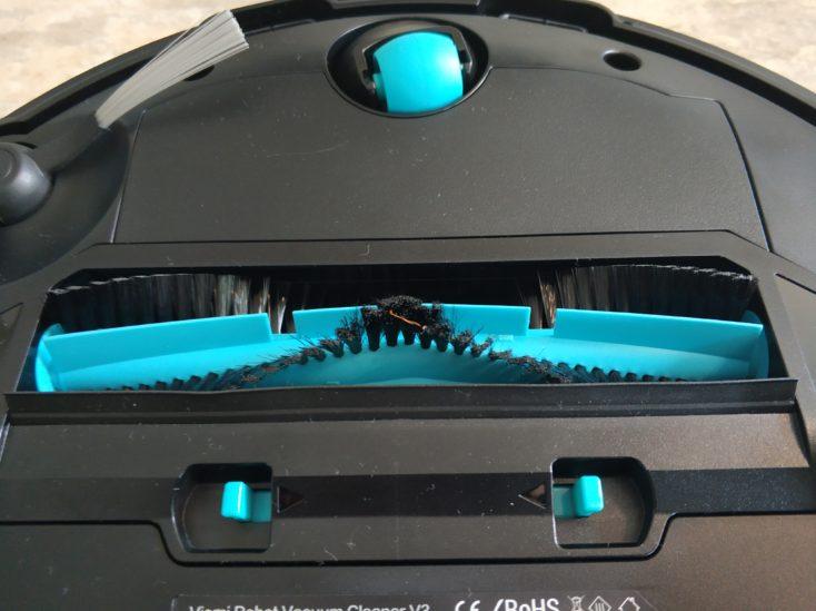 Viomi V3 Saugroboter Unterseite Walze