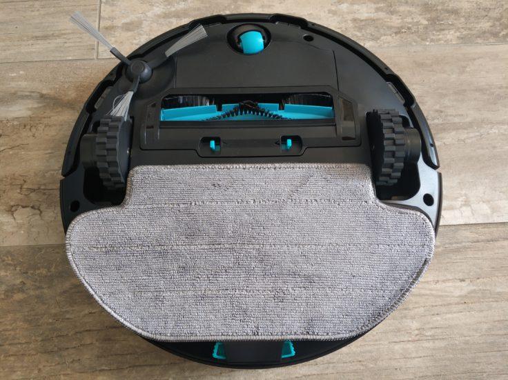 Viomi V3 Saugroboter Wischfunktion angebracht Unterseite