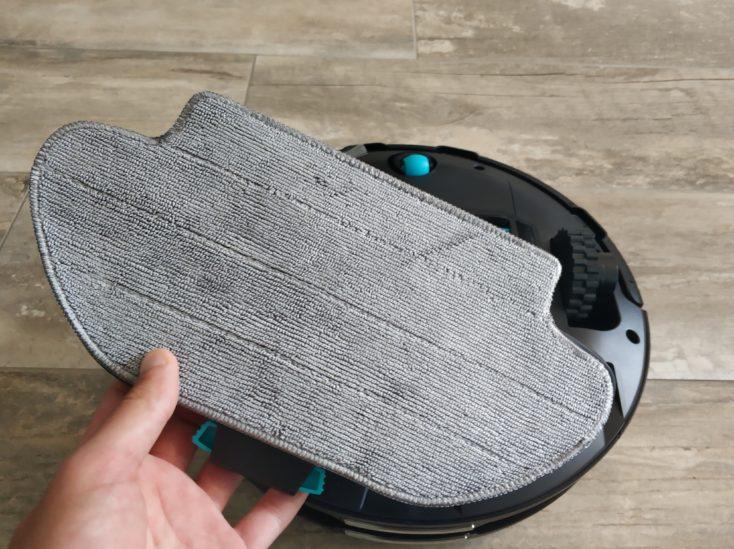 Viomi V3 Saugroboter Wischfunktion verwenden