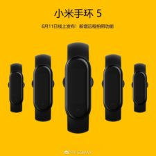 Xiaomi Mi Band 5 Fitness Tracker Teaser