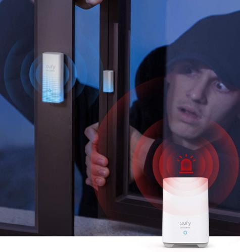 eufy Security Haustuer Sensor Alarmanlage