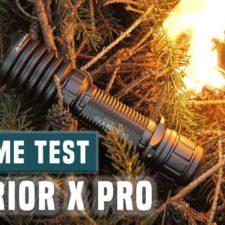 Olight Warrior X Pro und I5T Taschenlampen Bundle für 122,34€