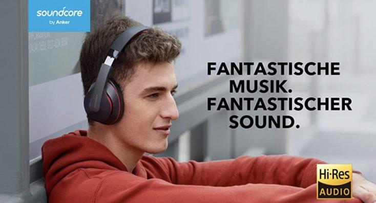 Anker Soundcore Q10 Lautsprecher Mann