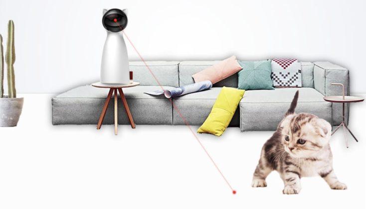 Automatischer Katzenlaser Sofa