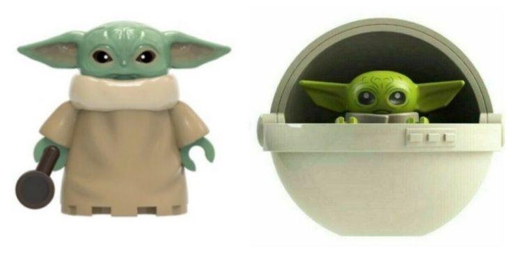 Baby Yoda Spielfigur UEbersicht