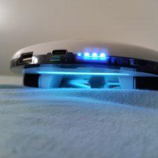 CleanseBot UV-Roboter UV-Licht auf Textilien