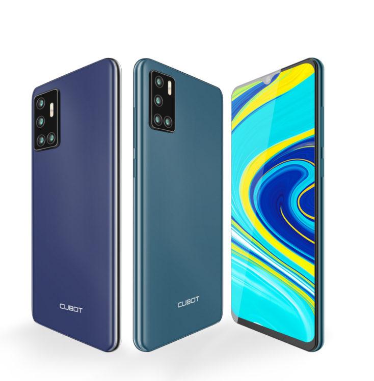 Cubot P40 Smartphone Farben