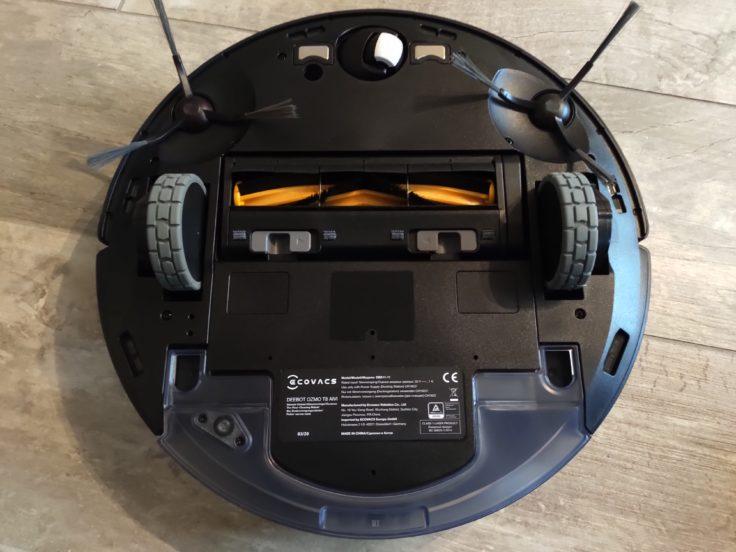 Ecovacs Deebot Ozmo T8 AIVI Saugroboter Unterseite