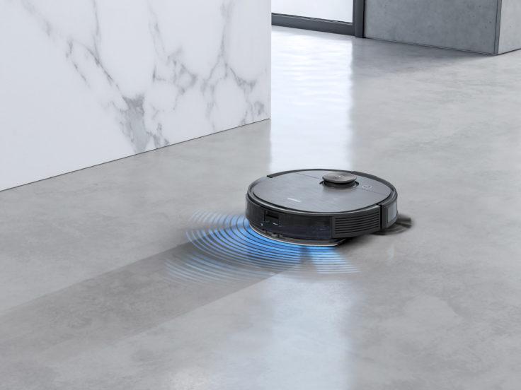 Ecovacs Deebot Ozmo T8 Saugroboter Pro Vibrationswassertank