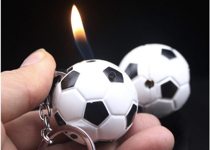 Feuerzeug Fussball