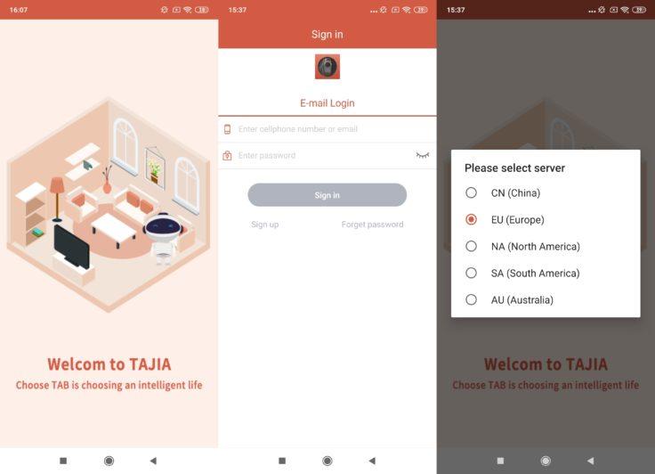 Haier TAB Tabot TATA Future App Registrierung