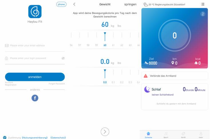 Haylou Solar Haylou Fit App Einrichtung