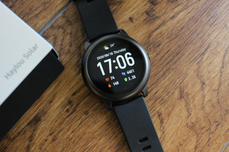 Haylou Solar Smartwatch Display