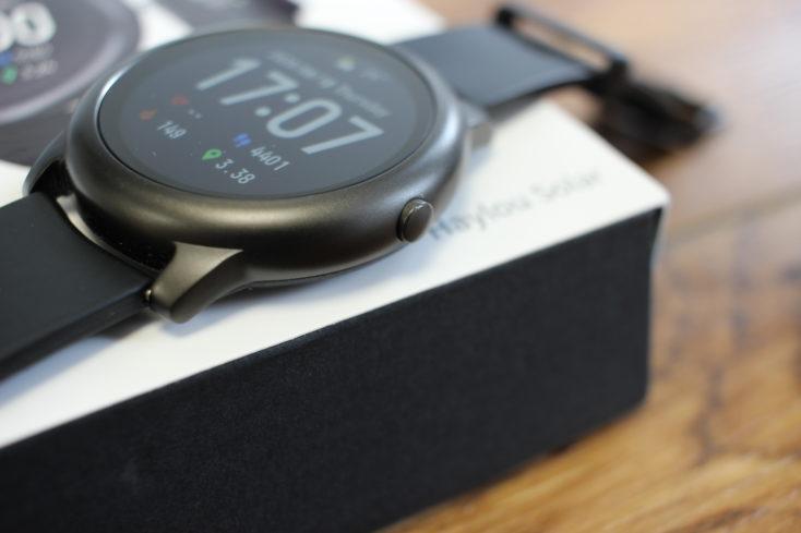 Haylou Solar Smartwatch Funktionstaste