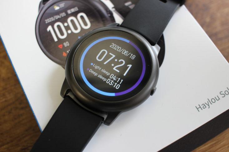 Haylou Solar Smartwatch Schlaftracking