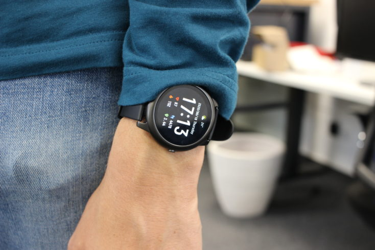 Haylou Solar Smartwatch Tragekomfort