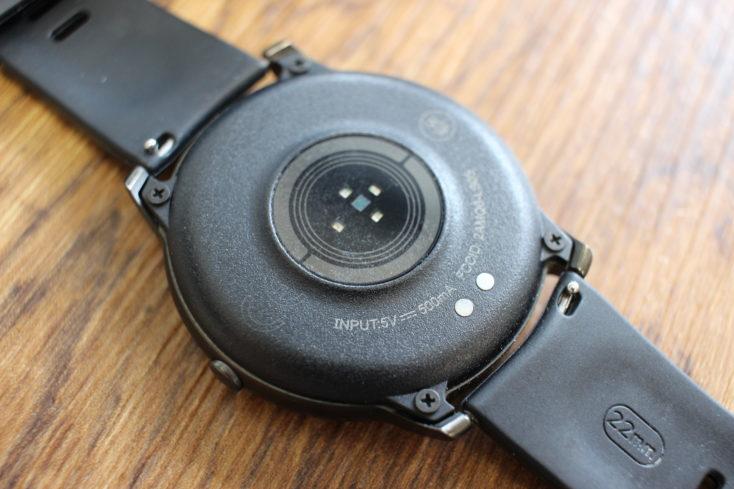 Haylou Solar Smartwatch Unterseite