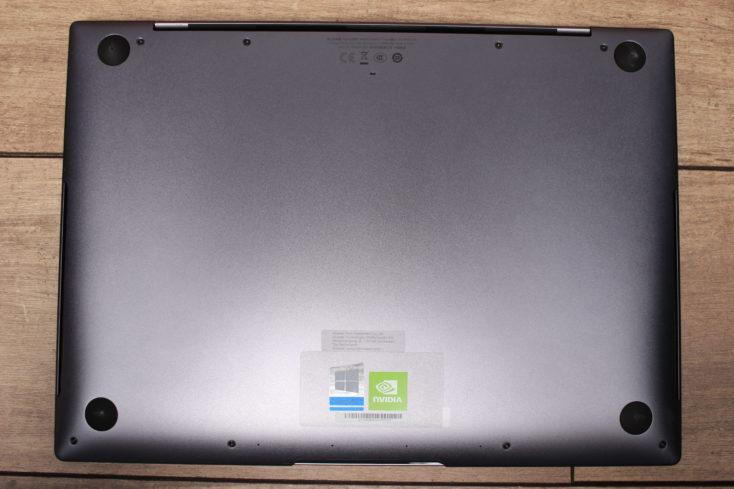 Huawei MateBook X Pro 2020 Notebook Unterseite