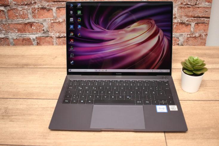 Huawei MateBook X Pro 2020 Notebook Vorderseite Tastatur